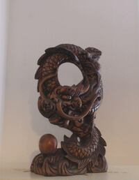 brown wooden wall mount decor CENTREVILLE