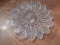 Glass cake/pie plate York