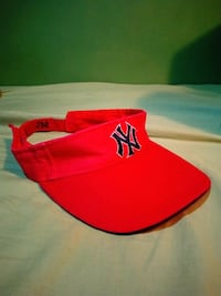 Used Embroiled New York Yankee Visor