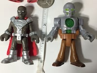 Fisher Price Imaginext DC Super Friends ~ Steel & Metallo ~ $5 Pu in Franklin  Franklin, 46131