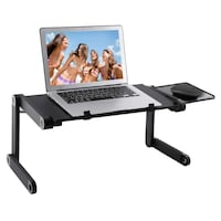 Adjustable Laptop Stand with Breathable Ventilation (new in box never used) Little Rock