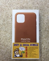 Original from Apple iPhone 11 leather case new Toronto, M1H 2A4