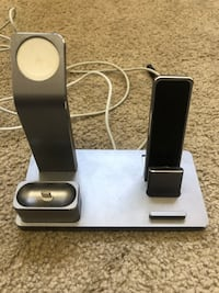 iPhone dock station