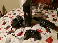 black Xbox 360 with controllers Union City, 07087