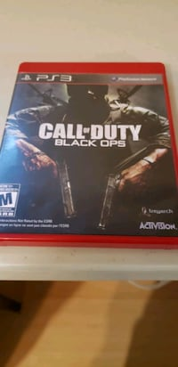 Call of Duty Black Ops PS3 game case Saint-Constant, J5A 2S6