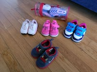Toddler shoes nike and puma 5 pairs Pickering, L1V 6W3