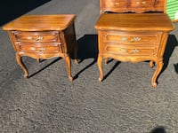Thomasville French Provincial Matching Nightstands