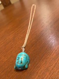 Turquoise Buddha necklace Vaughan, L4J 8W8