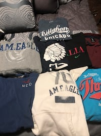 Men's small new or washed brand names  Oshawa, L1J 0A5