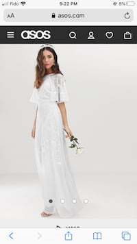 Wedding Dress Gown Size 8 NEW North Vancouver, V7H 2T5