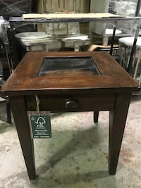 Wood rustic sidetable/Nightstand with one drawer from urban barn. Richmond Hill, L4B 1G2