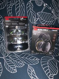 3m worktunes Bluetooth head phones and safety glasses Cambridge, N3H 1Y3