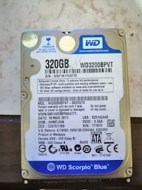 Laptop hard disk 320 gb Düzce Province