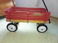 Radio flyer Town & Country wood wagon Minneapolis, 55445