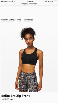 Lululemon Sports Bra  Abbotsford, V2S 8N1