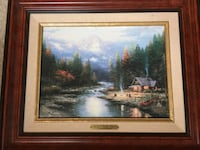 Thomas Kinkade - End of a Perfect Day Morgan Hill, 95037