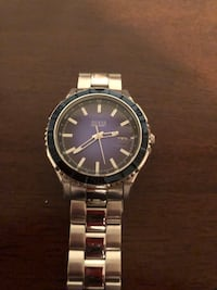 Men's Silver(Blue Face) Guess Watch Hamilton, L9C