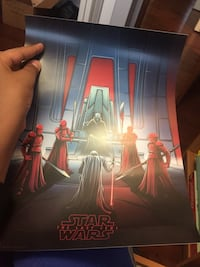 Star Wars poster price could be nigotiable Edmonton, T5Y 1Z2