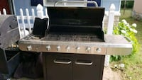 white and black gas range oven Springfield, 65807