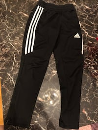 Black and white womans adidas track pants Guelph, N1H 7G8