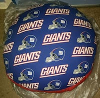 New York Giants round pillow District Heights, 20747