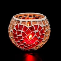 Hand made candle holder