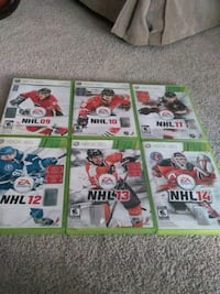 NHL For Xbox 360 9 To 14 Milton, L9T 7K6