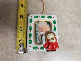 Ceramic photo ornament