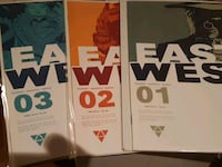 East of west comics 1to3 Mississauga, L4Z 3T2