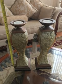brown and gray wooden vases Edmonton, T6X 1L1