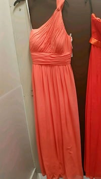 women's pink spaghetti strap dress Greater London, SE26 5TG