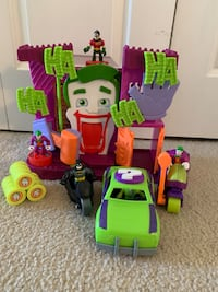 Imaginext Joker house with car and motorcycle Rosemount, 55068