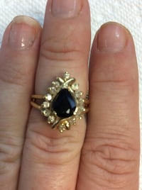 Jewelry sapphire and diamond 14kt out for $355.00 will take  225 today only Manassas Park, 20111