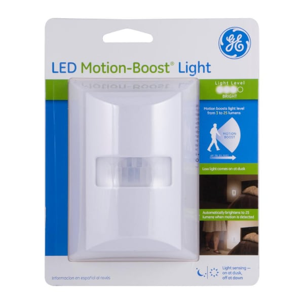 GE Motion-Boost Sensing LED Night Light
