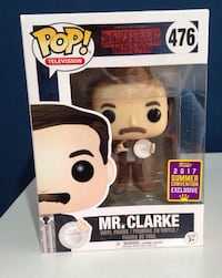 Funko Mr Clarke Stranger Things SDCC17