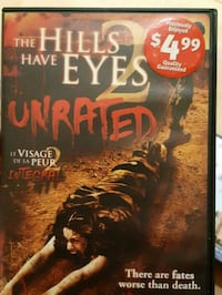 The Hills have eyes 2 DVD 521 km