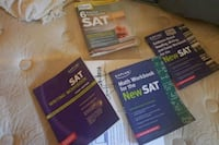 Brand New and Used SAT practice books