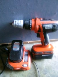 red and black Black & Decker cordless hand drill Rowland Heights, 91748