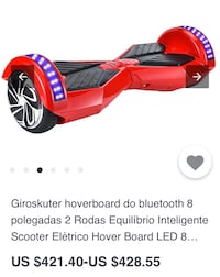 Hoverboard bleutooth scooter 8379 km