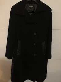 black button-up coat Laval, H7C 2H9
