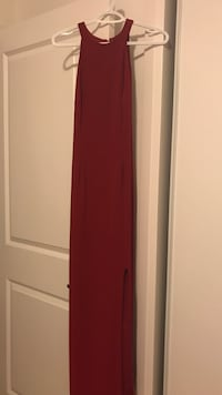 Red prom dress from le chateau Vaughan