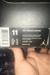 Aqua 8's Jordan size 11 (negotiable) Elkridge, 21075