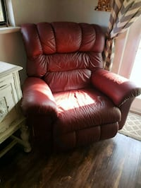red leather recliner sofa chair Winter Haven, 33880