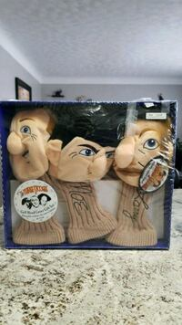 3 stooges golf club covers