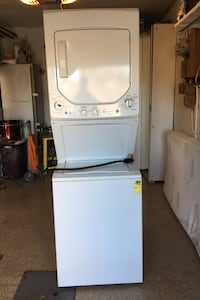 EG Wash and Dryer 240 Volt Vented Electric Dryer and wash