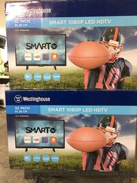 """Westing house 32"""" tv smart new in box 90days labour and part warranty Toronto, M1P"""