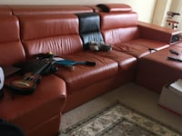 Italian leather sofa Bethesda