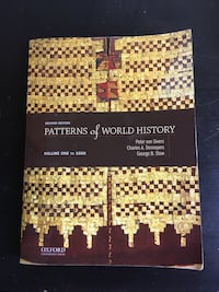Patterns Of World History Second Edition Textbook Coquitlam, V3J