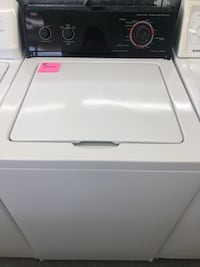 "24"" inches wide washer black fave Roper by Whirlpool heavy duty Warren, 48089"