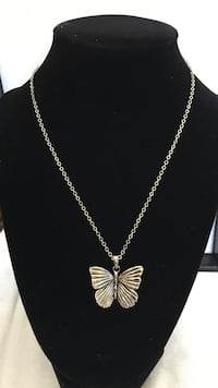 Fashion necklace with butterfly pendant Oxnard, 93030
